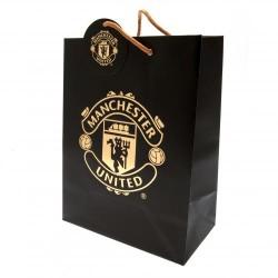 Dárková taška černá Manchester United FC