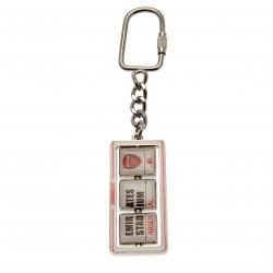 Přívěsek na klíče Arsenal FC otáčecí (typ STD)