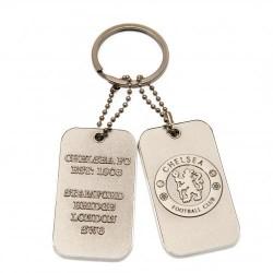 Přívěsek na klíče s psí známkou Chelsea FC
