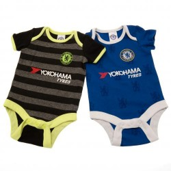 Kojenecké body Chelsea FC (2 ks) (typ LN) velikost 0-3 měsíce
