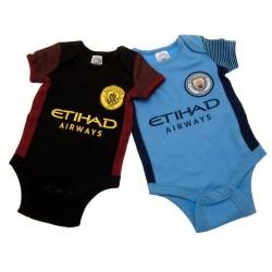 Kojenecké body Manchester City FC (2 ks) (typ ST) velikost 3-6 měsíců