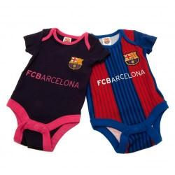 Kojenecké body Barcelona FC (2 ks) (typ VS) velikost 6-9 měsíců