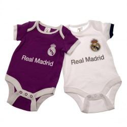 Kojenecké body Real Madrid FC (2 ks) (typ PL) velikost 0-3 měsíce