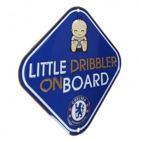 Cedulka do auta Dribbler on board Chelsea FC