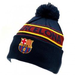 Zimní čepice Barcelona FC s bambulí (typ TX)