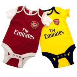 Kojenecké body Arsenal FC (2 ks) (typ DR) velikost 0-3 měsíce
