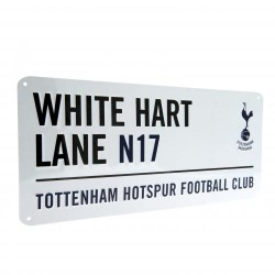 Plechová cedulka Tottenham Hotspur FC ulice (typ 17)