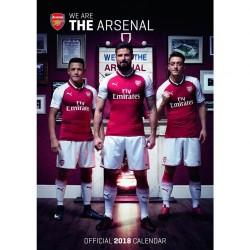 Velký kalendář 2018 Arsenal FC