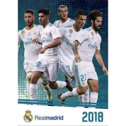 Velký kalendář 2018 Real Madrid FC