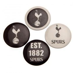 Sada 4 placek Tottenham Hotspur FC (typ 18)