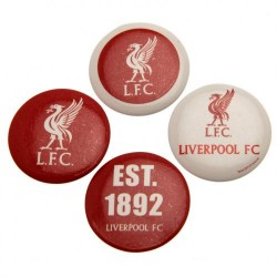 Sada 4 placek Liverpool FC (typ 18)