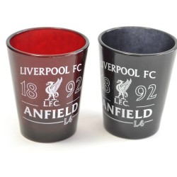 Sada 2ks skleniček panáků Liverpool FC (typ 18)
