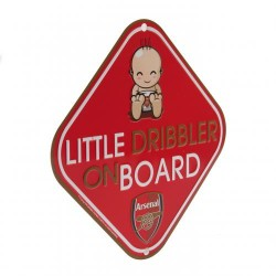 Cedulka do auta Little Dribbler on board Arsenal FC