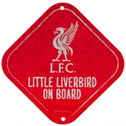 Cedulka do auta Little Dribbler on board Liverpool FC