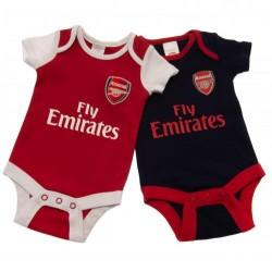 Kojenecké body Arsenal FC (2 ks) (typ NR) velikost 12-18 měsíců