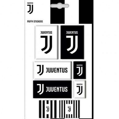 Samolepky plastické 8ks Juventus Turín FC (typ 18)