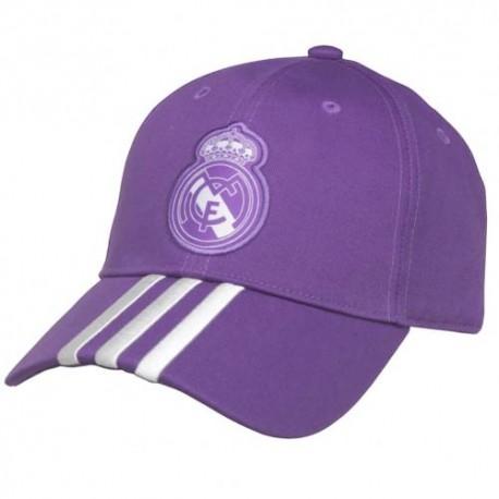 Kšiltovka Adidas Real Madrid FC fialová (typ 19)