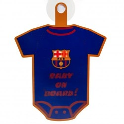 Cedulka do auta Baby on board Barcelona FC (typ body)