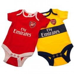 Kojenecké body Arsenal FC (2 ks) (typ YL) velikost 3-6 měsíců