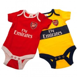 Kojenecké body Arsenal FC (2 ks) (typ YL) velikost 12-18 měsíců
