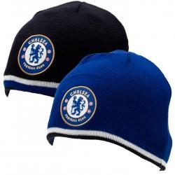 Zimní čepice Chelsea FC oboustranná (typ 19)