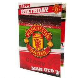 Hrací blahopřání k narozeninám Manchester United FC (typ 19)