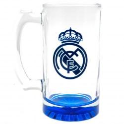 Pivní sklenice s uchem Real Madrid FC (typ 19)