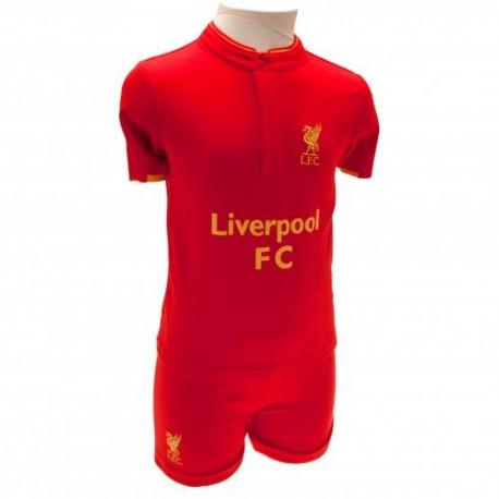 Kojenecké tričko a šortky Liverpool FC (typ GD) velikost 12-18 měsíců