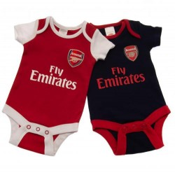 Kojenecké body Arsenal FC (2 ks) (typ NR) velikost 6-9 měsíců