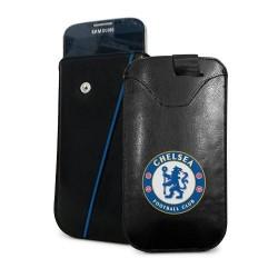 Kožené pouzdro na mobil Chelsea FC (typ menší)