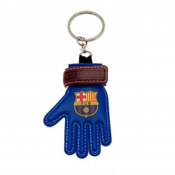 Přívěsek na klíče s brankářskou rukavicí Barcelona FC