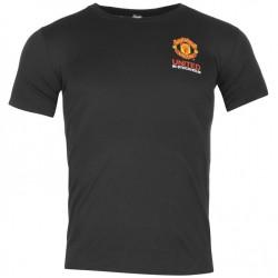 Dětské tričko Manchester Untied FC černé (typ Stockholm) velikost 9-10 let