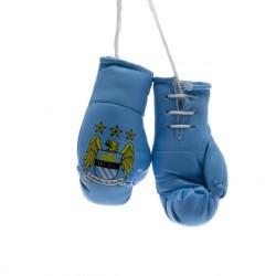 Mini boxovací rukavice Manchester City FC