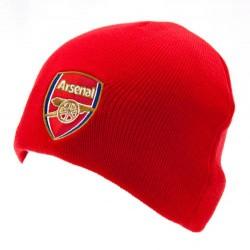 Zimní čepice Arsenal FC červená (bez lemu)