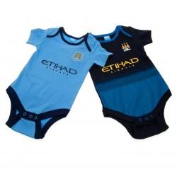 Kojenecké body Manchester City FC (2 ks) (typ MC) velikost 12-18 měsíců
