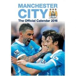Velký kalendář 2016 Manchester City FC