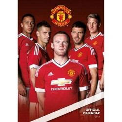Velký kalendář 2016 Manchester United FC