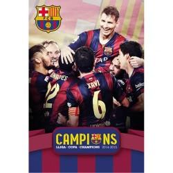 Plakát Barcelona FC hráči (typ 115)