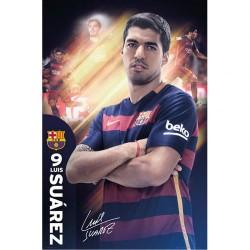 Plakát Barcelona FC Suarez (typ 32)