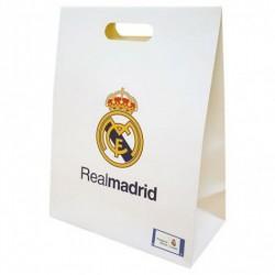 Dárková taška Real Madrid FC velká bílá