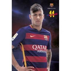 Plakát Barcelona FC Neymar (typ 75)