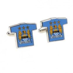 Manžetové knoflíčky Manchester City FC (typ dres)