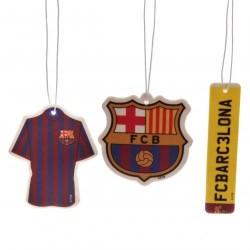 Osvěžovač vzduchu Barcelona FC (3 kusy)